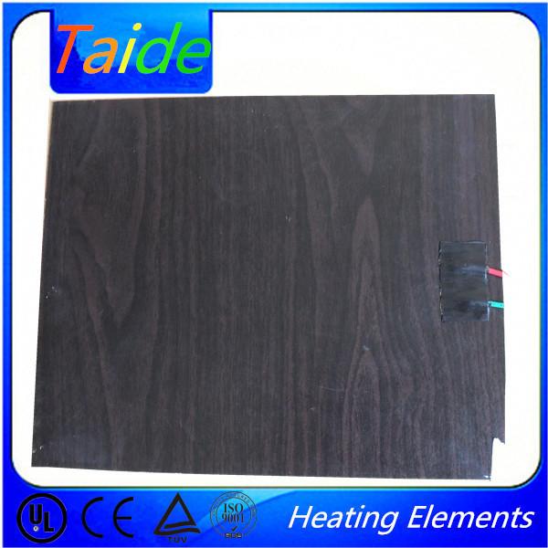 Ahşap laminat zemin karbon kristal sağlık parlak ahşap ısıtmalı zemin, yüksek kalite ısıtmalı zemin