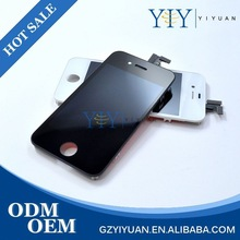 YiY Samples Are Available Cheapest Original Lcd Module Waterproof Shockproof Mobile Phone Touch Screen For iphone 4s