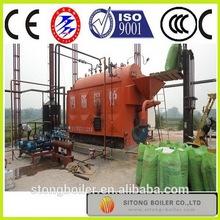 U.S. brand water treatment LOW COST wood pellet hot water boiler