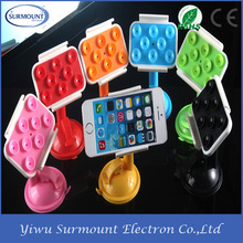 anti-slip phone holder pad desktop wall mount cell phone holder car cell phone holder