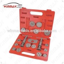WINMAX 21pcs Universal Car/Truck Disc Brake Caliper Piston Rewind Wind Back Tool Kit WT04018