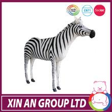 2014 hot sale zebra stuffed animal en71 icti audited factory