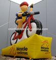 Publicidade modelo de bicicleta, Réplicas infláveis
