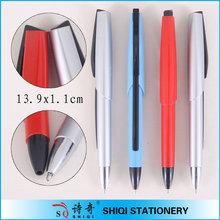 novelty promotional customized logo retractable pen