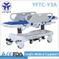 Yftc-y3a Hospital de lujo de paciente cambio médica de transporte de camilla
