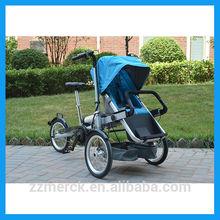 carrozzina elettrica per madre e bambino