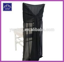 Self Tie Chiffon Chiavari Chair Covers With Sash