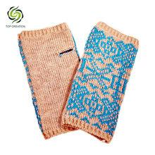 Cheap Winter knitting women fingerless gloves