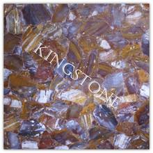 ink Painting Agate Slab, gemstone slab