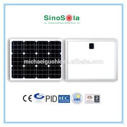 12v solar module with TUV/IEC61215/IEC61730/CEC/CE/PID