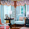 100% cotton beautiful gauze door window cotton curtain 2014