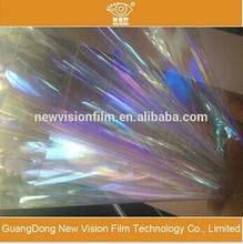 Sun protection purple chameleon window film sun purple film auto