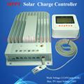Batterie de cellule solaire chargeur 40A 12 v / 24 v MPPT solaire contrôleur de charge Tracer 4215BN