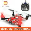 Remoto anfibio de seis ejes quadcopter de aire drone avión modelo con luces LED
