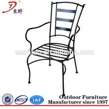açık Wilson ve balıkçı veranda mobilya demir sandalye dökme