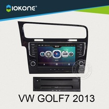 Special double din 8 inch car dvd vcd cd mp3 mp4 player for VW GOLF7 2013