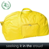 Bright Yellow cheap duffle bags for sale ,girls duffel bag