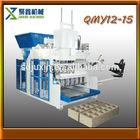manufacturers in china QMY12-15 hydraulic press to produce brick/egg block making machine/hollow block machines