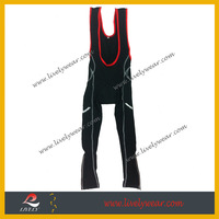 Livelywear--Free Design Sublimation Spandex Custom Men's Cycling Pantalon/cycling bib pant