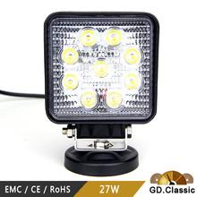 China supplier led ring light 27w led work lamp