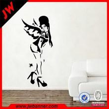 Custom printed fashion wall sticker decal