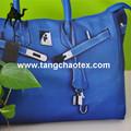 Vendas do fabricante Tangchao têxtil 100% RPET 600D imitação de couro imprimir tecido oxford