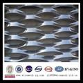 Anodizado colorido decorativo expandiu folha de alumínio fabricante( iso9001)