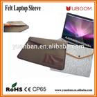 "Felt Tablet Pouch 11"", 13"", 15"" envelop style case with stud closure"