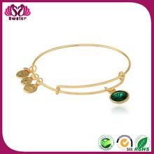 Top Sale Handmade Charm Bracelet Magnetic stainless steel Charm Bracelet 2014