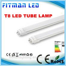 Ultra bright 3year warranty T8 led 20 watt tube 4ft rotational ends