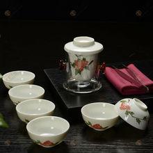 birthday gift idea Brand new crystal tea set chinese tea newest porcelain japanese porcelain tea setunique top grade gifts