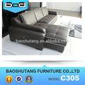 hotel de lujo o dormitorio muebles sofá de cuero para la venta de guangdong c305
