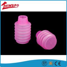 Eco Friendly silicone Customized Flexible silicone rubber bellows