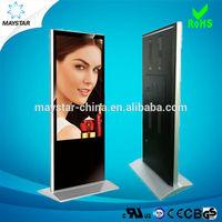 Shopping Mall Floor standing 42 inch loop video advertising display