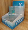 Cmyk impressão de plástico rígido caixa de exibição plástico caixa de bonecas exibição