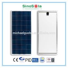 solar power module with TUV/IEC61215/IEC61730/CEC/CE/PID