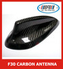 REAL CARBON FIBER CAR SHARK FIN ROOF ANTENNA FOR BMW 3 SERIES F30 2012-2016