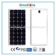12V100W Mono Solar Panel TUV/CE/IEC/CEC Certificates