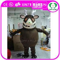 HI 2014 high quality Gruffalo mascot costume/adult mascot for sale