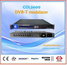 digital video broadcasting modulator rf dvb-t ,radio broadcast equipment COL5600