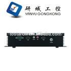 NFD10 - 1037U Embedded Fanless Mini Industrial PC, 12V mini Computer with Hdmi