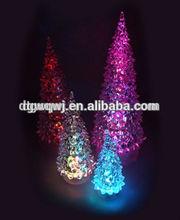 Fashion and high transparent mini led christmas tree
