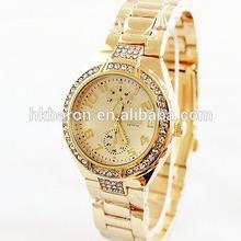 luxury diamond jellly wrist watch of japan movet quartz
