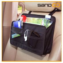 Hot selling products car organizer seat back pocket, hanging backseat car organiser