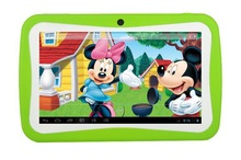 Cheapest android 4.4 7 inch kids tablet pc for christmas gift
