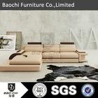 image of sofa set.luxury leather sofa.l shape leather sofa cover. P3331B