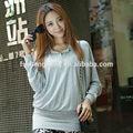 Hermosa joven mather algodón de la blusa para mujeres embarazadas AK011