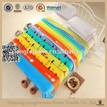coperte maglia tessuto patchwork di stampa coperta coreano