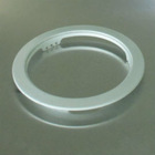 OEM precision mold Iron die casting led light lamp ring spare parts