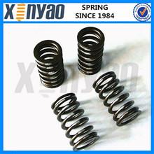 powder coated large diameter compression spring